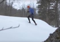 Российский бегун пробежал 38 км у полюса холода в минус 52