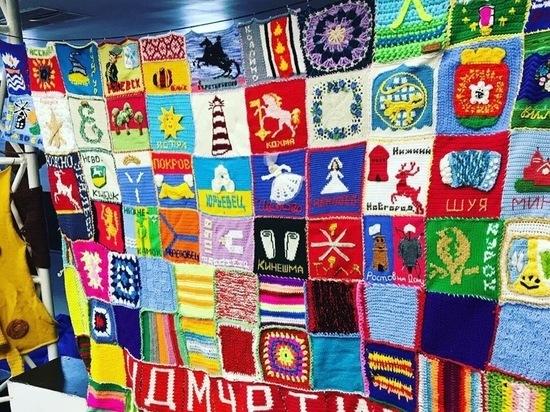 Любителей вязания приглашают на выставку «Мировое одеяло»