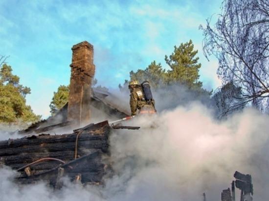 Только за сутки в Рославле сгорели две бани