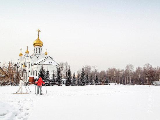 Рождество в Кузбассе выдастся теплым