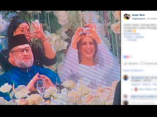 Женился на мисс Москва: король Малайзии отрекся от престола