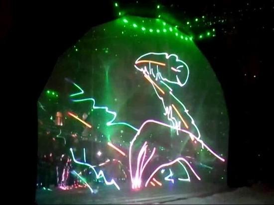 На Рождество тамбовчанам покажут масштабное лазерное шоу