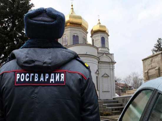 Росгвардия усилила охрану общественных мест в Рождество на Ставрополье