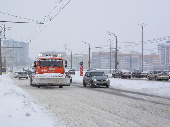Снегопад собрал саранских чиновников на экстренное совещание