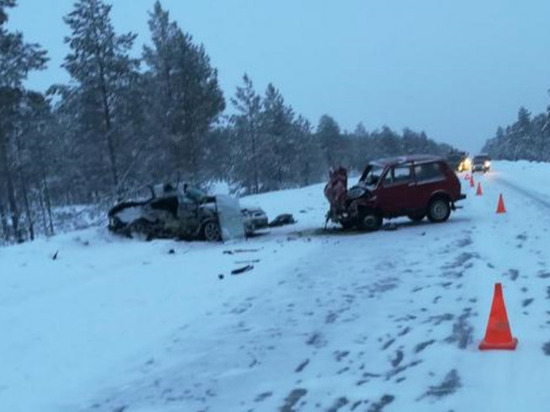 Под Сургутом произошла авария, погибла женщина