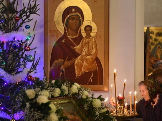 Игорь Руденя встретил Рождество с прихожанами в Твери