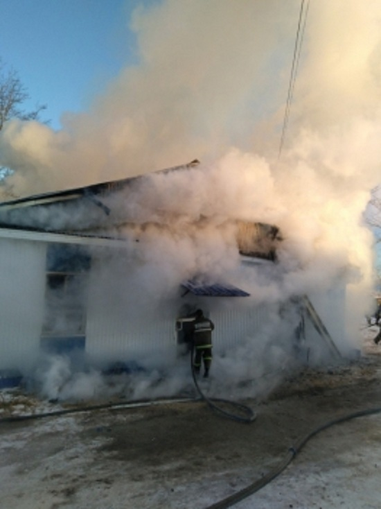 В Бурятии сгорела сельская амбулатория