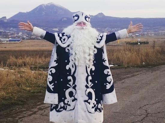 Дед Мороз планирует летний отпуск в Железноводске не один