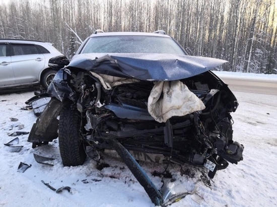 Жительница Увата погибла в ДТП на трассе Тюмень – Ханты-Мансийск