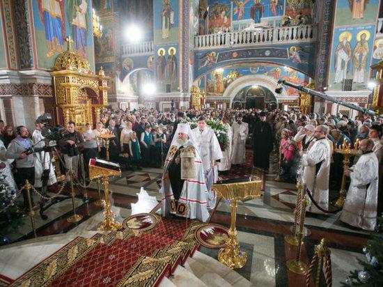 Сегодня православные Югры отмечают Рождество