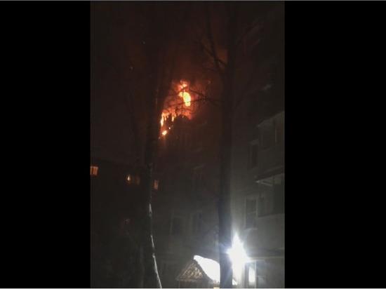 В центре Тамбова в квартире многоэтажного дома прогремел взрыв