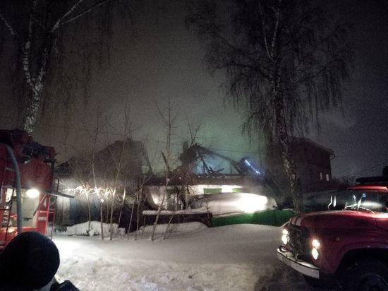 На пожаре в Рудничном районе Кемерова погиб один человек