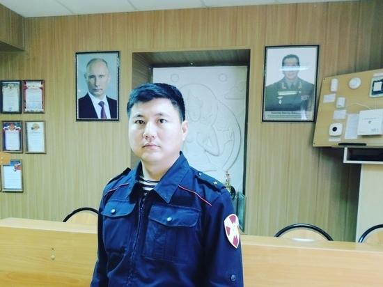 Элистинец Церен Канаев вовремя проявил бдительность