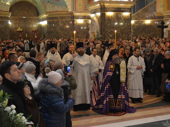 Калининградская область встретила Рождество Христово