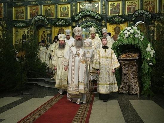 В Рождественскую ночь митрополит Кирилл вспомнил про Украину