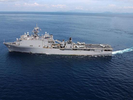 ВМС Румынии пояснили, зачем американский корабль зашел в Черное море