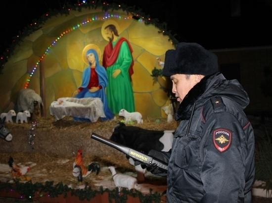 Во время рождественских праздников в Калмыкии было все спокойно