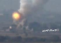 Хуситы выложили видео подрыва американского танка