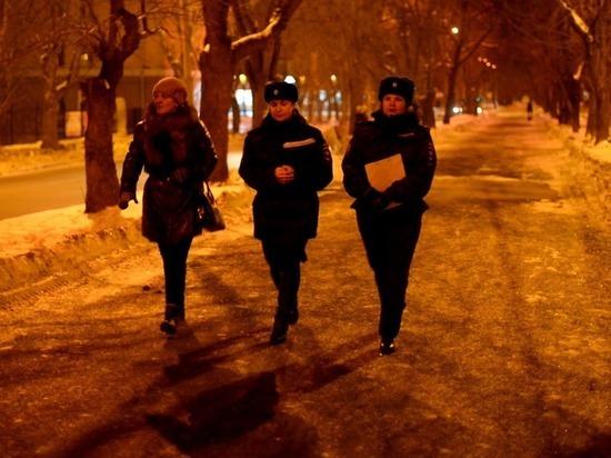 За новогодние праздники в Екатеринбурге в полиции доставлено более 80 несовершеннолетних
