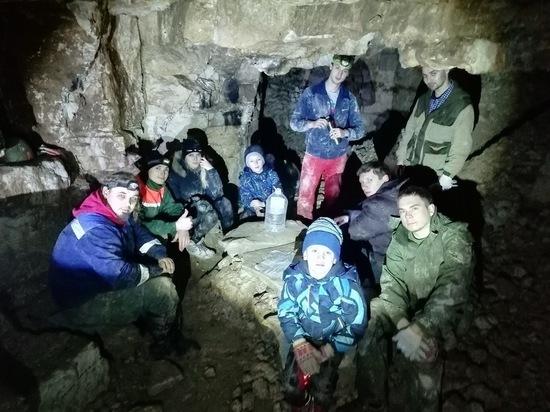Жители Серпухова побывали в Старицкой известняковой пещере