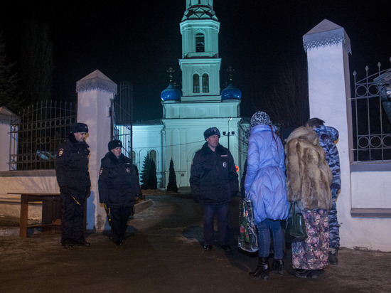 Рождество в Ивановской области прошло спокойно
