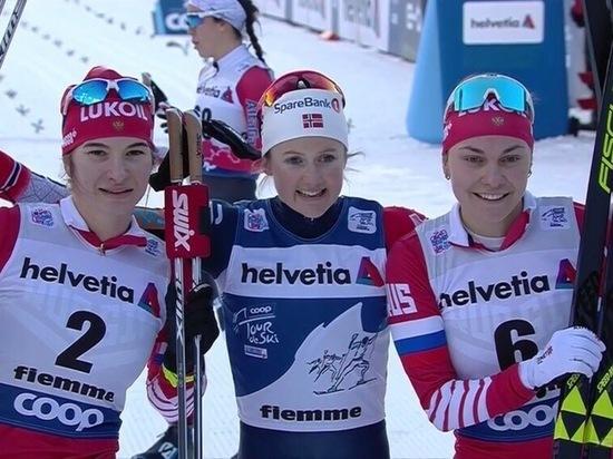 Мордовская лыжница завоевала третью медаль на Тур де Ски 2019