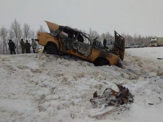 В Тамбовской области за первую неделю нового года в ДТП пострадали 25 человек