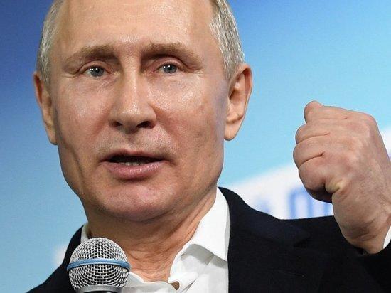 Путин презентовал в Калининграде газовый терминал