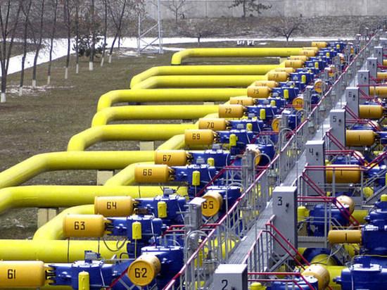 ВПХГ Украины объем газа упал до43% общей вместительности