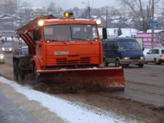 Техники не хватает: как убирают от снега дороги в Иванове?