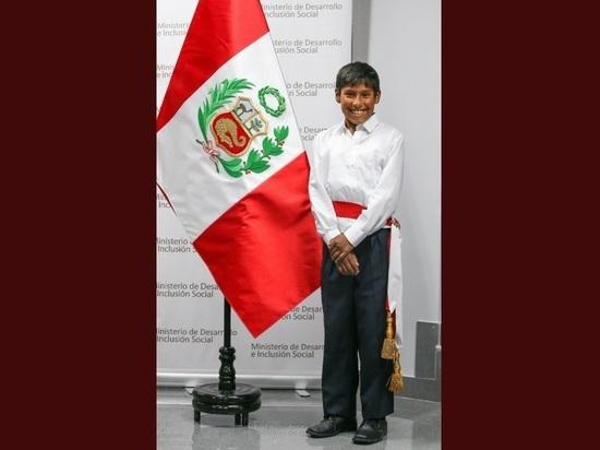 В Перу министром стал 12-летний ребенок