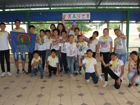 Летом калмыцкие дети отдыхали только в пришкольных лагерях