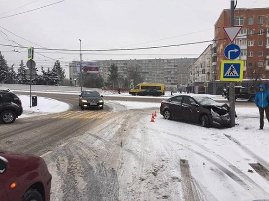 В Калининграде в ДТП пострадал 4-летний ребенок
