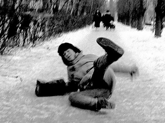Саратов завалило снегом по самую макушку