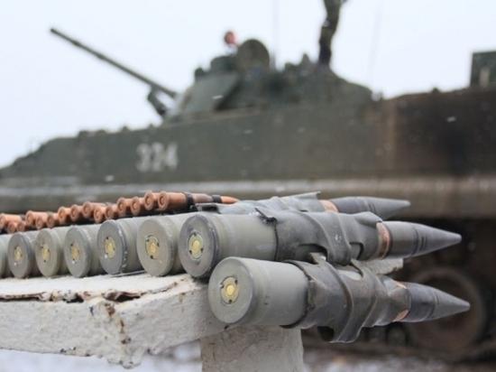 В Волгоградской области в учениях приняли участие 1000 мотострелков