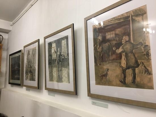 Остались считанные дни до закрытия выставки работ, иллюстрирующих «Записки охотника»