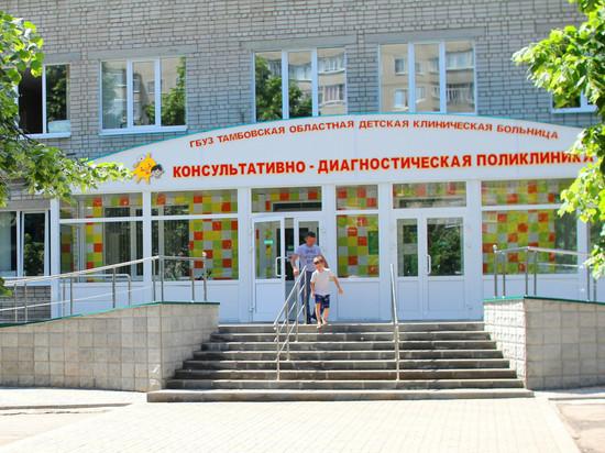 Тамбовская областная детская больница получила новое медицинское оборудование