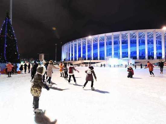 32 тысячи человек посетили развлекательную площадку «Зимняя сказка»