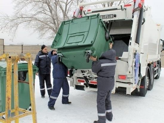 В Волгограде за новогодние праздники вывезли 140 000 куб. метров ТКО