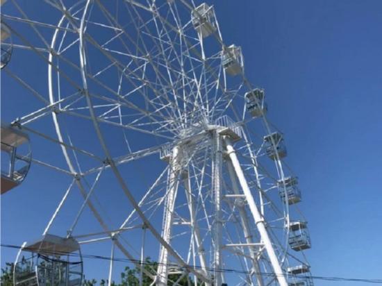 Житель Анапы выставил на продажу колесо обозрения