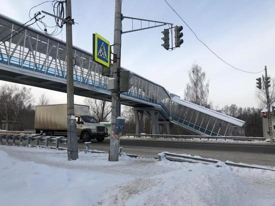 Надземный переход через трассу Муром – Нижний Новгород открылся в Богородском районе