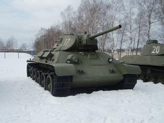 Лаос передал Минобороны РФ 30 танков Т-34