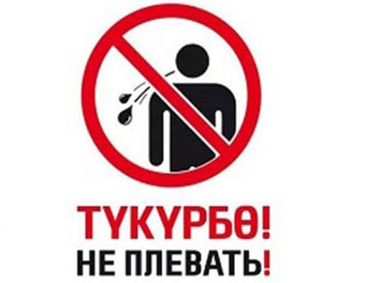 Новый Кодекс Кыргызстана о нарушениях: Харчок вне закона