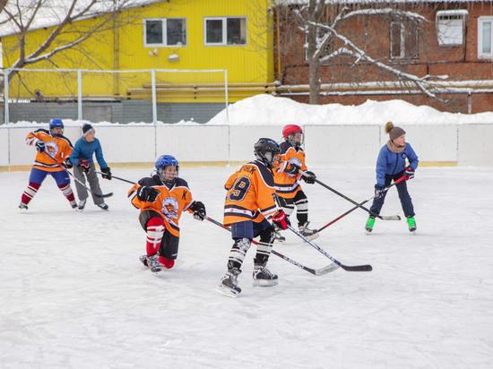 Юные жители Саранска приняли участие в турнире по хоккею с шайбой