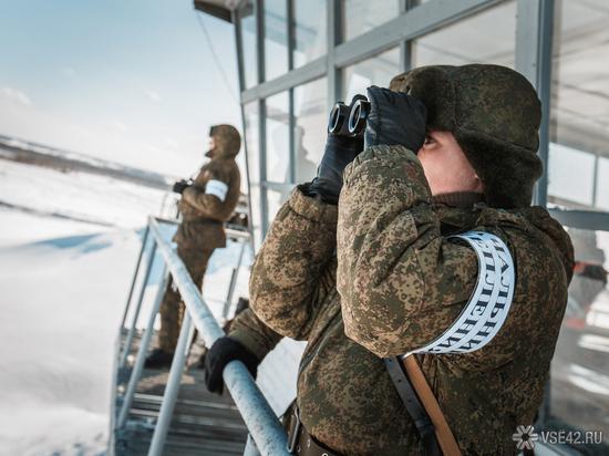 Дроны испытали на военных учениях в Кузбассе