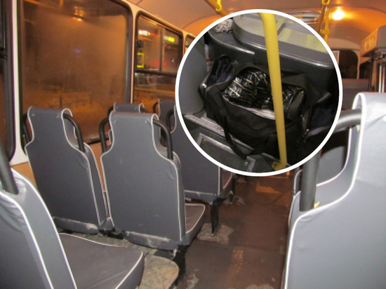 Чувашские полицейские ищут владельцев забытых в транспорте сумок