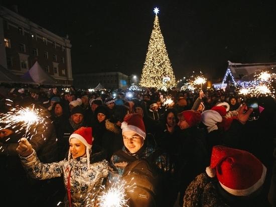 Фестиваль «Горьковская елка» посетили более 150 тысяч человек