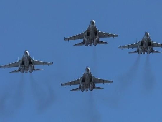 В Тверскую область прибыли новейшие истребители Су-35