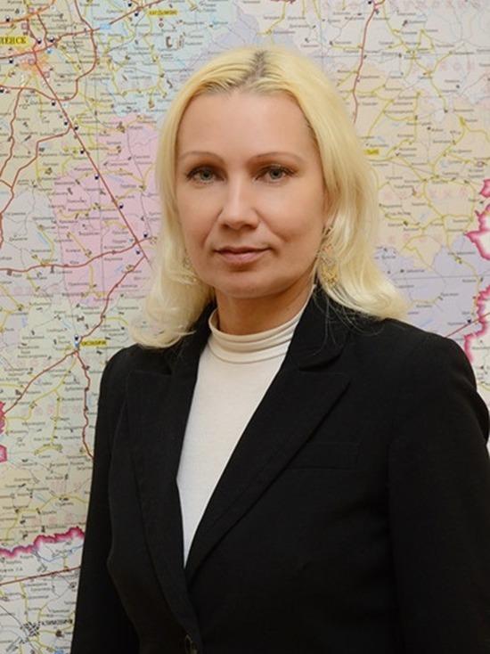 Илона Кротова вновь назначена земгубернатора Смоленской области