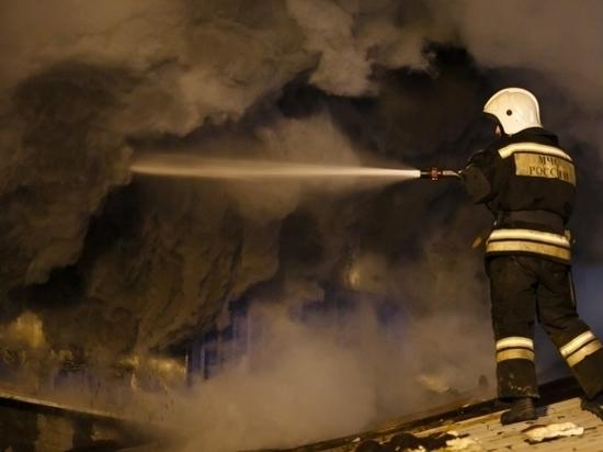 Ночью на пожаре в Михайловке погибли мужчина и ребёнок